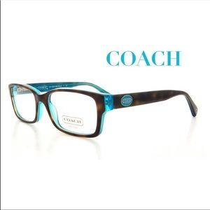 """COACH 🤎 Rx """"Brooklyn"""" Tortie Eyeglass Frame"""